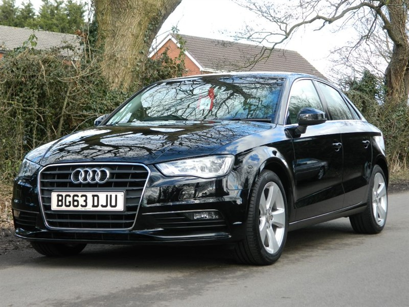 used Audi A3 TDI SPORT sat nav + leather in in-preston-and-lancashire