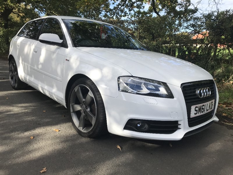 used Audi A3 SPORTBACK TFSI S LINE SPECIAL EDITION black edition in in-preston-and-lancashire