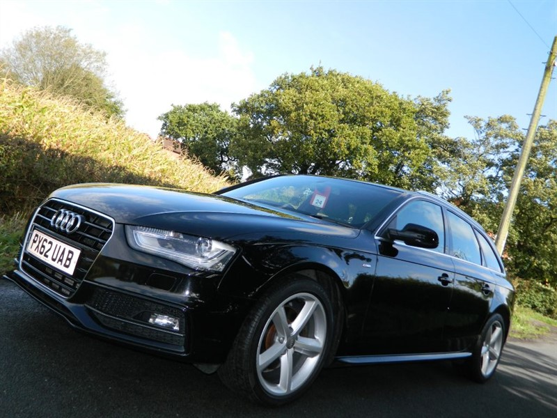 used Audi A4 Avant TDI S LINE 1 owner  4 Audi services in in-preston-and-lancashire