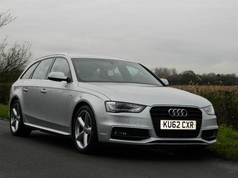 used Audi A4 Avant TDI S LINE sat navigation full audi service history in in-preston-and-lancashire