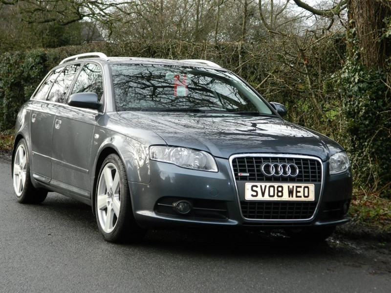 used Audi A4 Avant TDI S LINE TDV FULL SERVICE HISTORY INC TIMING BELT in in-preston-and-lancashire
