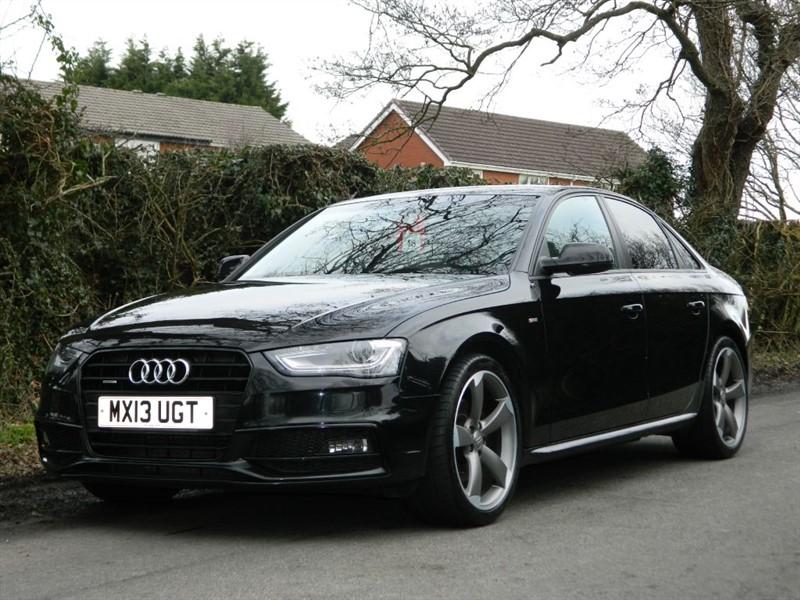used Audi A4 TDI QUATTRO S LINE BLACK EDITION in in-preston-and-lancashire