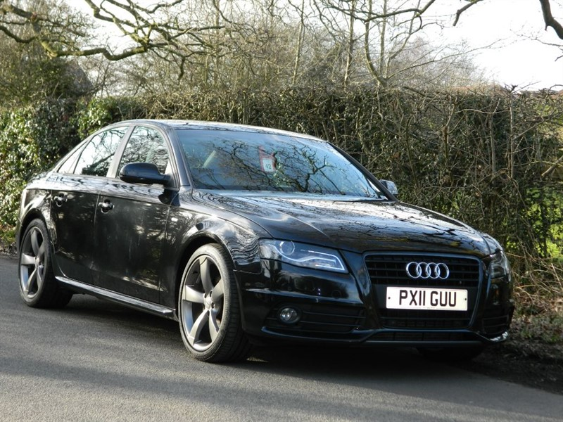 used Audi A4 TDI S LINE BLACK EDITION FULL SERVICE HISTORY in in-preston-and-lancashire