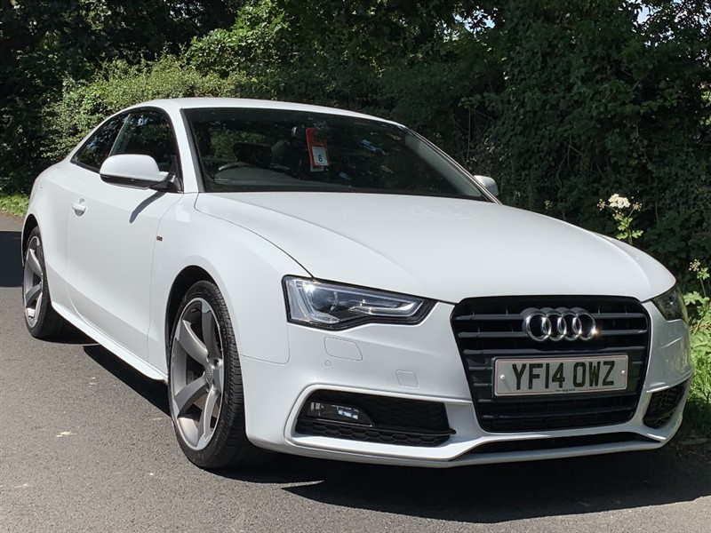 used Audi A5 TDI S LINE BLACK EDITION sat nav heated seats in in-preston-and-lancashire