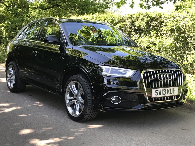 used Audi Q3 TDI QUATTRO S LINE in in-preston-and-lancashire