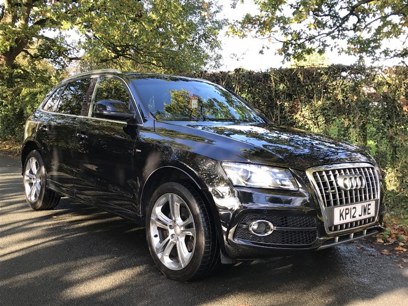 used Audi Q5 TDI QUATTRO S LINE SPECIAL EDITION in in-preston-and-lancashire