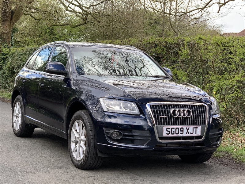 used Audi Q5 TDI QUATTRO SE LEATHER SAT NAV LOW MILES FSH in in-preston-and-lancashire
