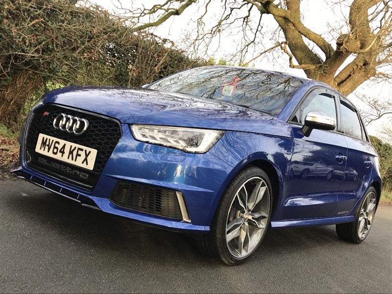 used Audi S1 QUATTRO SPORTBACK in in-preston-and-lancashire
