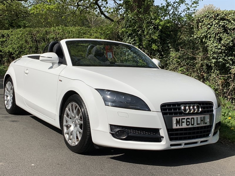 used Audi TT TFSI in in-preston-and-lancashire