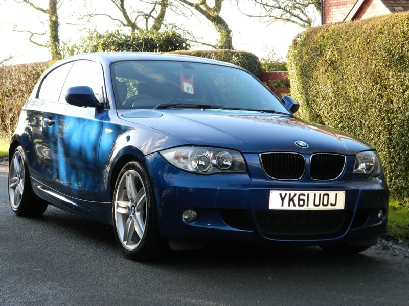 used BMW 118d M SPORT FULL SERVICE HISTORY 5 SERVICES in in-preston-and-lancashire