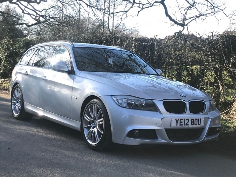 used BMW 318d M SPORT TOURINGSAT NAV +18