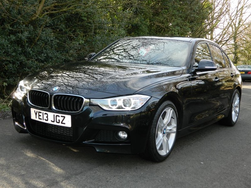 used BMW 318d M SPORT SAT NAV XENONS LEATHER in in-preston-and-lancashire