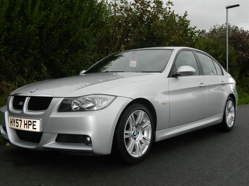 used BMW 320d M SPORT FANTASTIC DRIVE + CONDITION in in-preston-and-lancashire