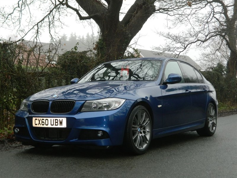 used BMW 320d SPORT PLUS EDITION LEATHER + FULL SERVICE HISTORY in in-preston-and-lancashire