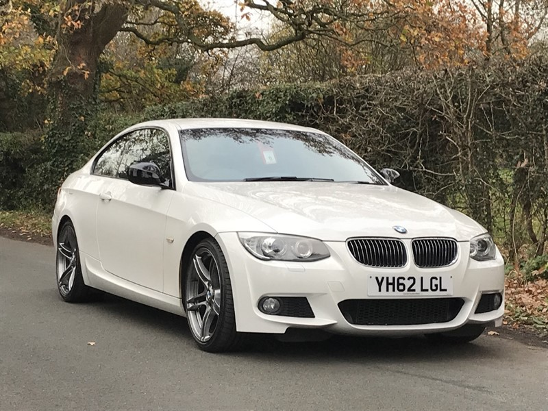 used BMW 318i SPORT PLUS EDITION sat nav + leather in in-preston-and-lancashire