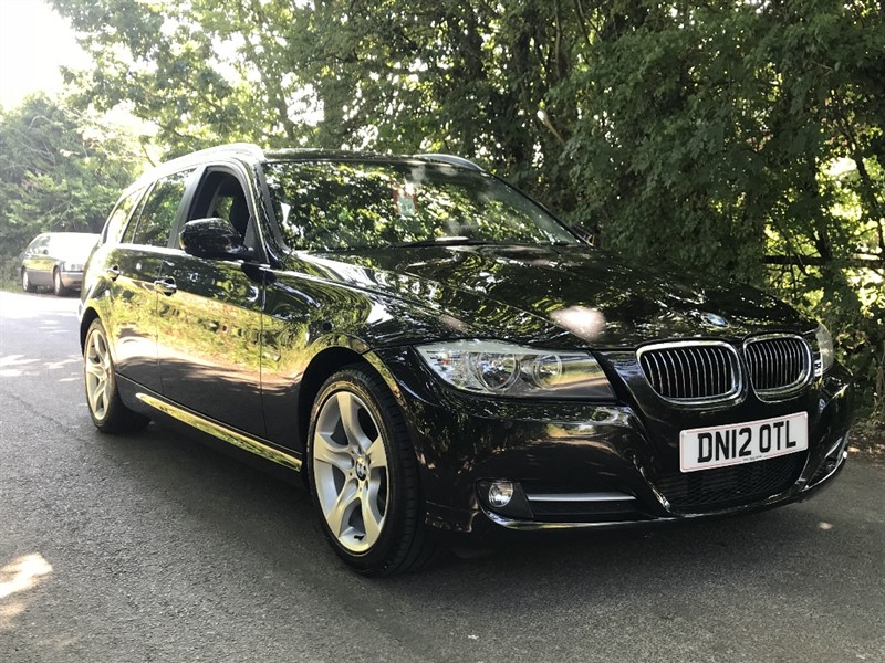 used BMW 320d EXCLUSIVE EDITION TOURING leather in in-preston-and-lancashire