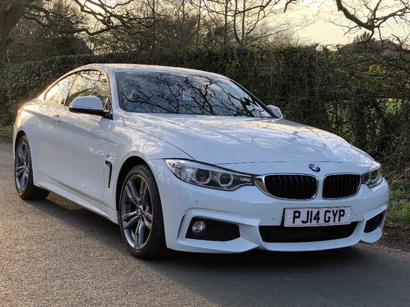 used BMW 420d M SPORT in in-preston-and-lancashire