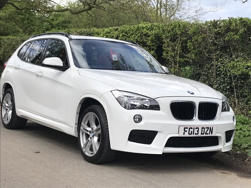 used BMW X1 XDRIVE18D M SPORT full glass panoramic sunroof + leather in in-preston-and-lancashire