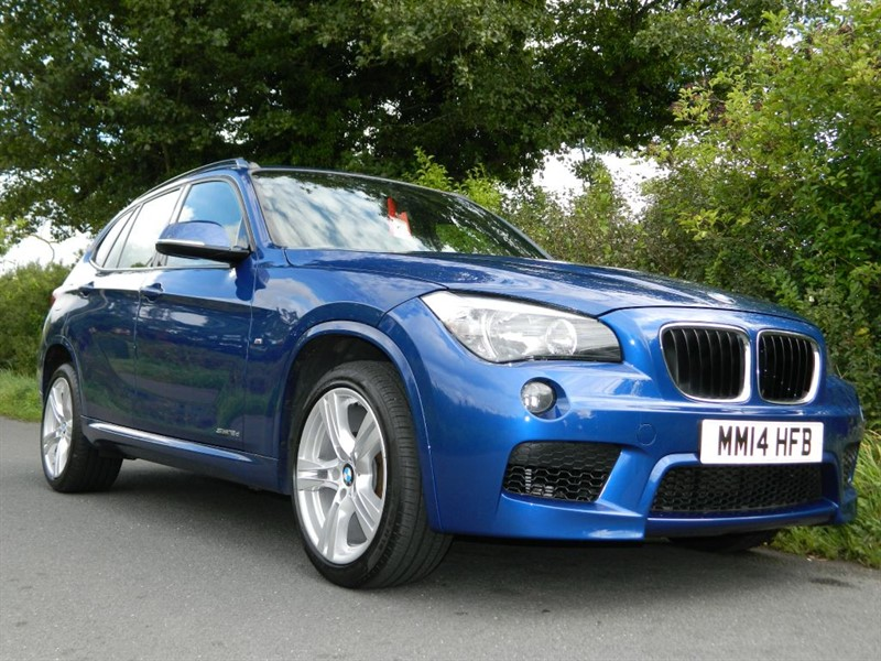 used BMW X1 SDRIVE18D M SPORT  LEATHER DAB RADIO FBMWSH in in-preston-and-lancashire