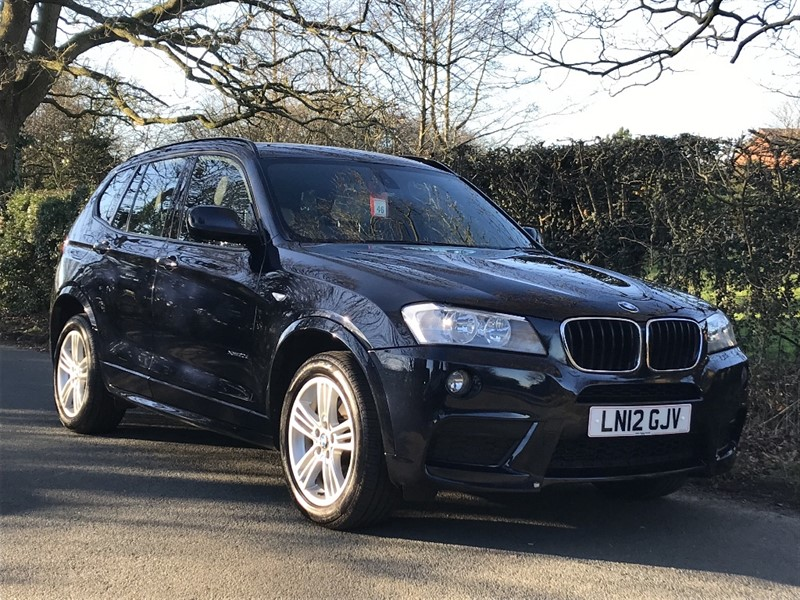 used BMW X3 XDRIVE20D M SPORT leather nav 1 owner in in-preston-and-lancashire