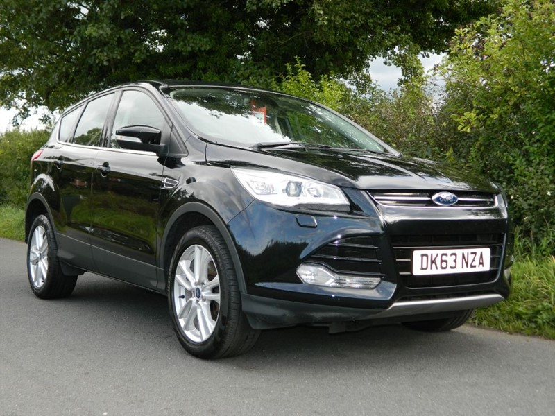 used Ford Kuga TITANIUM X TDCI LEATHER + PAN ROOF in in-preston-and-lancashire