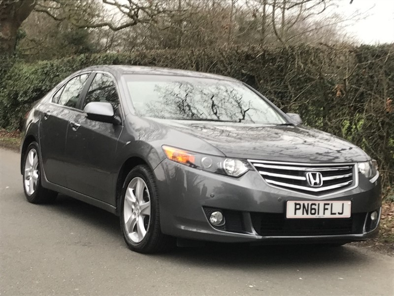 used Honda Accord I-DTEC EX SAT NAV LEATHER in in-preston-and-lancashire