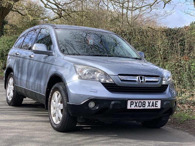 used Honda CR-V CTDI ES  service history in in-preston-and-lancashire