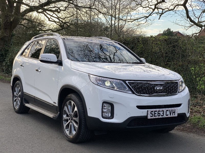 used Kia Sorento CRDI KX-4 in in-preston-and-lancashire