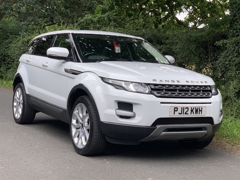 used Land Rover Range Rover Evoque SD4 PURE in in-preston-and-lancashire