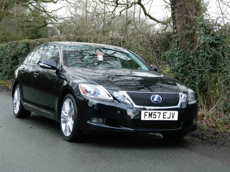 used Lexus GS 450h SE-L SAT NAV + FULLY LOADED in in-preston-and-lancashire