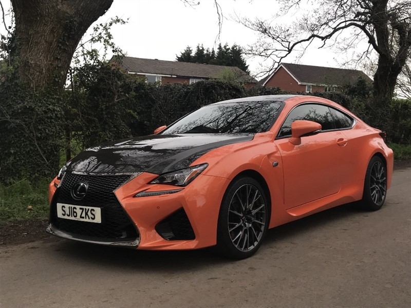 used Lexus RC F V8 CARBON in in-preston-and-lancashire