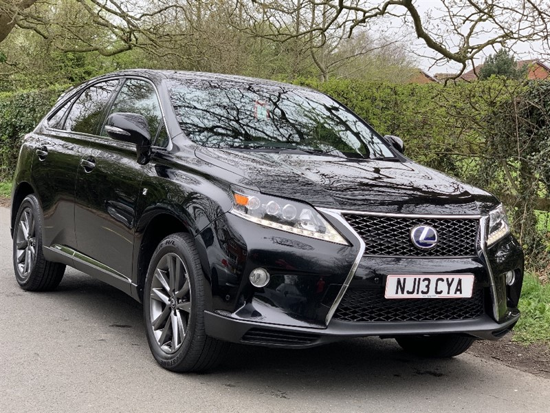 used Lexus RX 450H F SPORT in in-preston-and-lancashire