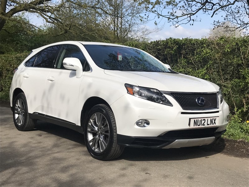used Lexus  450H ADVANCE SUN ROOF in in-preston-and-lancashire
