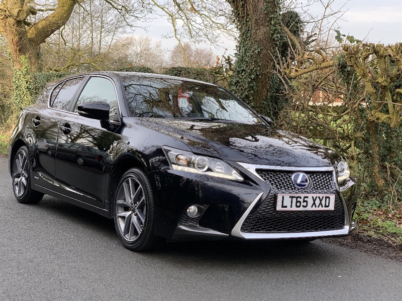 used Lexus  200H F SPORT in in-preston-and-lancashire