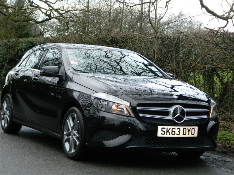 used Mercedes A180 CDI BLUEEFFICIENCY SPORT SAT NAVIGATION in in-preston-and-lancashire