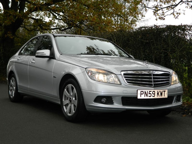 used Mercedes C180 KOMPRESSOR BLUEEFFICIENCY SE in in-preston-and-lancashire