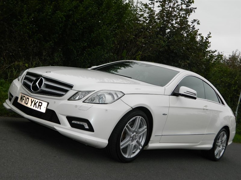 used Mercedes E250 CGI BLUEEFFICIENCY SPORT leather sat nav + camera in in-preston-and-lancashire