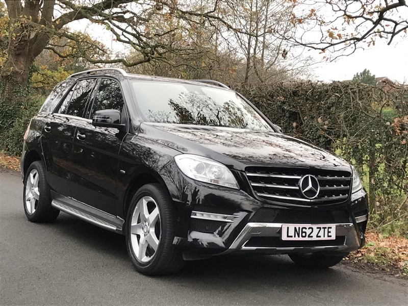 used Mercedes ML250 BLUETEC SPORT sat nav Mercedes service history in in-preston-and-lancashire