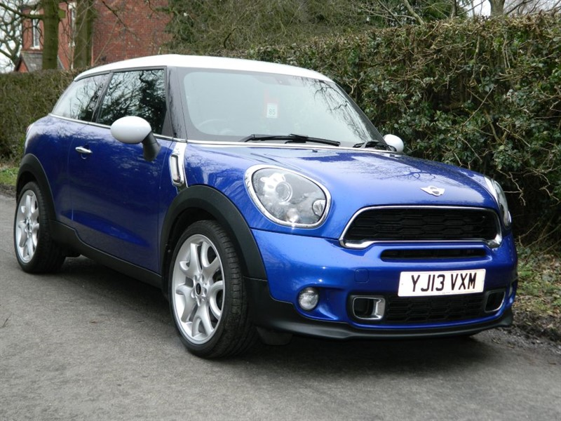 used MINI Paceman COOPER S SAT NAV LEATHER + 19