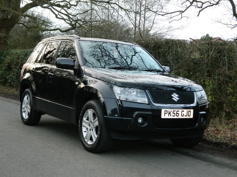 used Suzuki Grand Vitara DDIS full leather + full service history in in-preston-and-lancashire