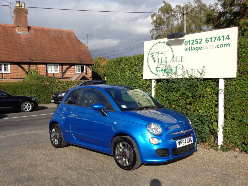 used Fiat 500 S £30 ROAD TAX LOW MILES FULL HISTORY AIR CON BLUETOOTH in fleet
