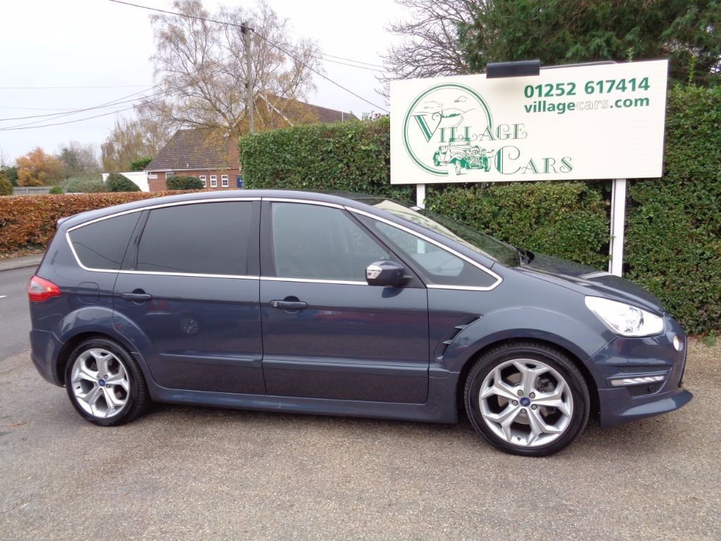 used Ford S-Max TITANIUM X SPORT TDCI PANORAMIC ROOF HALF LEATHER FULL FORD HISTORY in fleet
