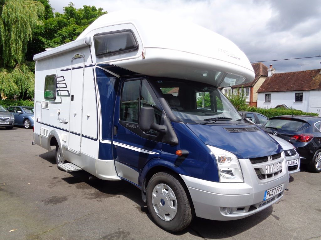 used Ford Transit  HYMER C CLASS MOTORHOME 4 BIRTH FULL SIZE AWNING  in fleet