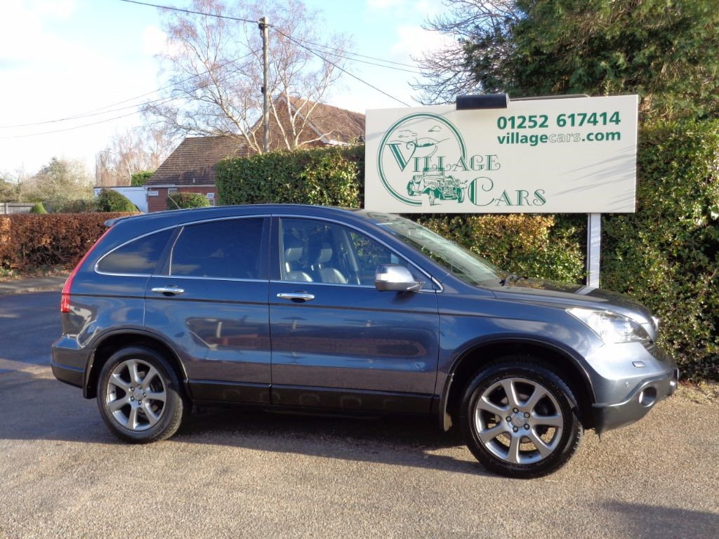 used Honda CR-V I-VTEC EX SAT NAV PAN ROOF REVERSE CAMERA HEATED LEATHER CRUISE in fleet