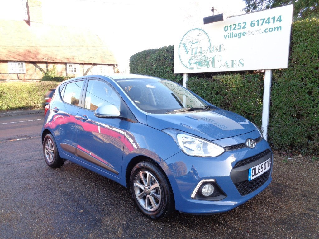 used Hyundai i10 PREMIUM BLUE DRIVE in fleet