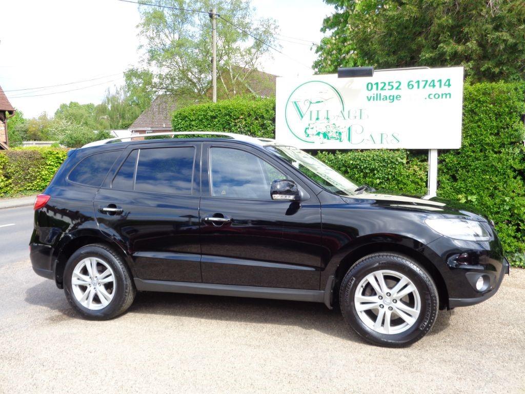 used Hyundai Santa Fe PREMIUM CRDI 7 SEATS BLACK LEATHER REAR PARKING SENSORS in fleet