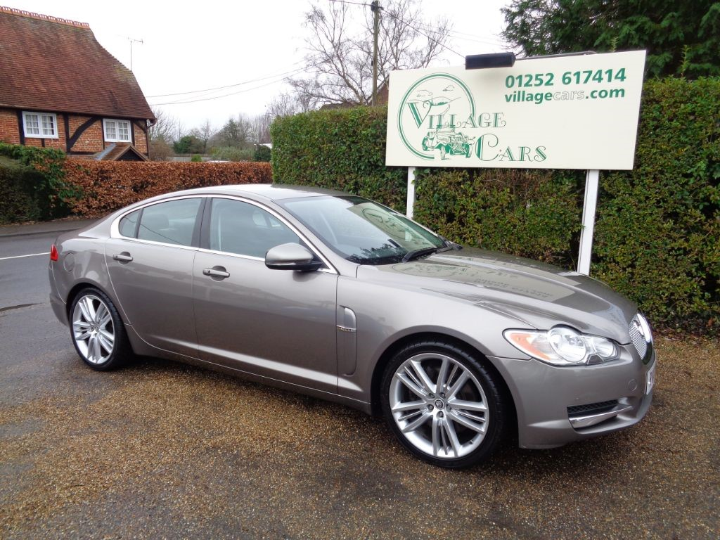 used Jaguar XF V6 PORTFOLIO in fleet