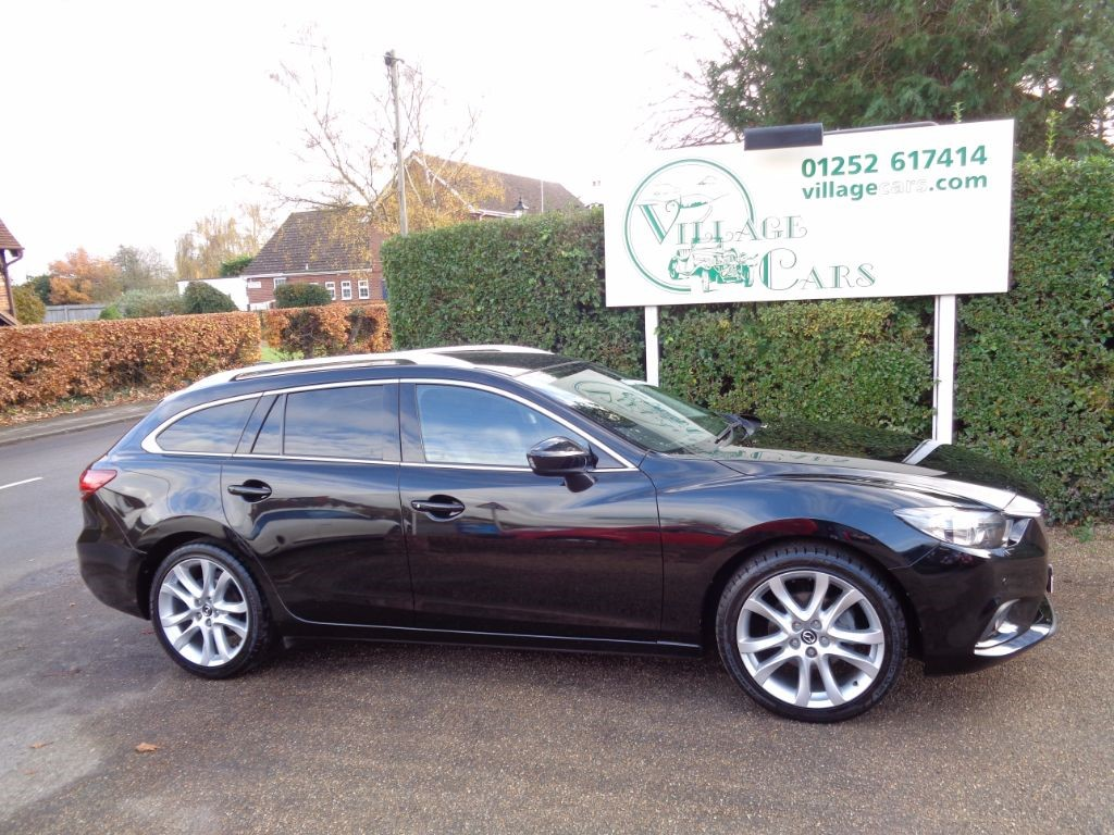 used Mazda Mazda6 6 D SPORT NAV £30 TAX HEATED LEATHER FULL DEALER HISTORY in fleet