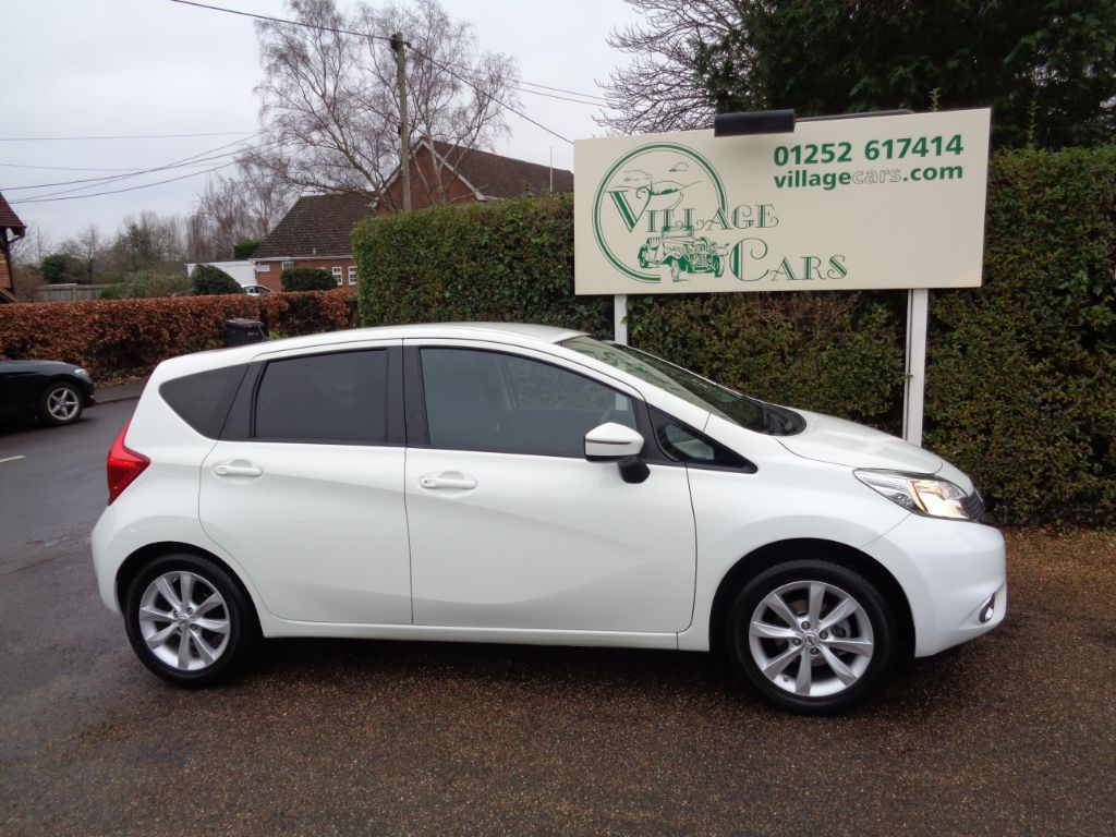 used Nissan Note ACENTA DIG-S LOW MILEAGE £30 TAX in fleet