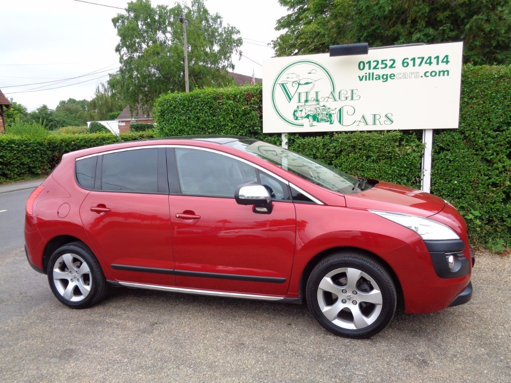 used Peugeot 3008 EXCLUSIVE HDI FULL HEATED LEATHER  in fleet